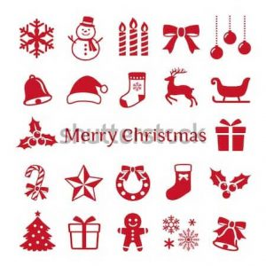 Christmas Icons Vector Designs Sample