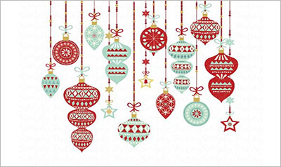 Vintage Christmas Ornament Designs