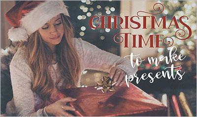 Christmas Story Template