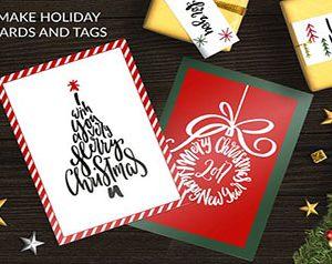 Christmas Tree Lettering Decoration Ideas