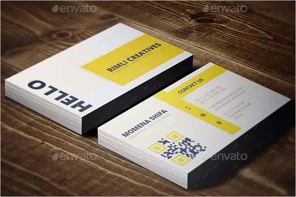 Classy Sleek Business Card Design