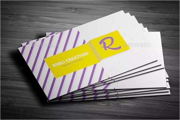 Clean Sleek Business Card Design