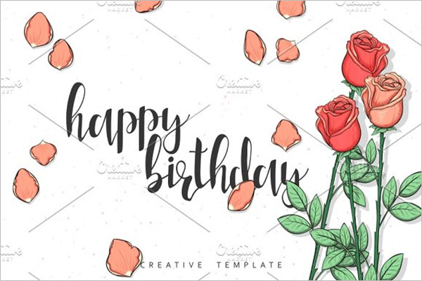 Colorful Birthday PostCard Design
