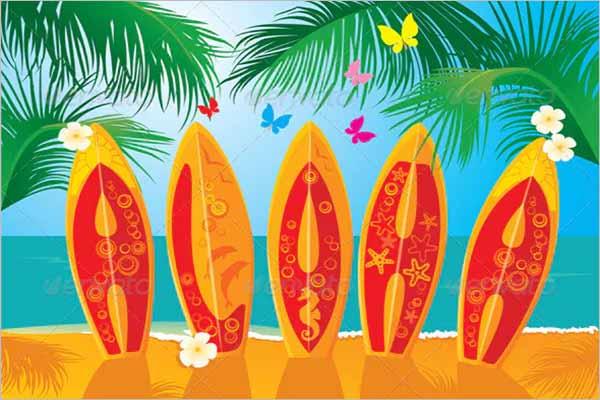 Company Holiday Postcard Design