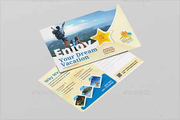 Company Holiday Postcard Designs
