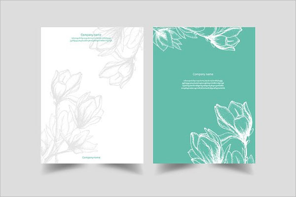 Creative Flower Postcard