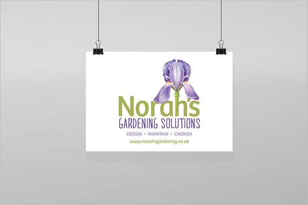 Creative Gardening Business Card