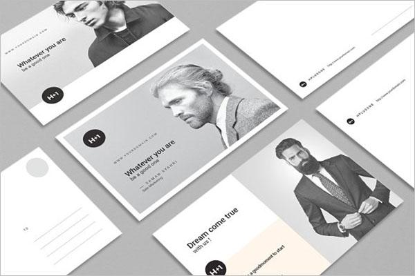 Creative Marketing Postcard Design