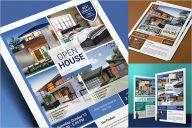 Creative Open House Flyer Design