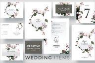 Creative Wedding Collection Postcard