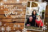 Custom Holiday Postcard Design