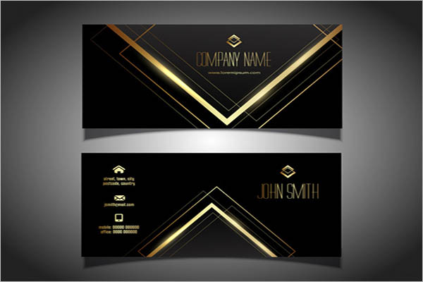 Custom Metal Business Cards Design