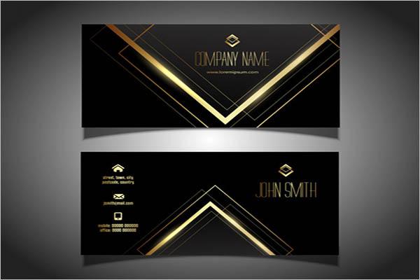 Custom Metal Business Cards Design