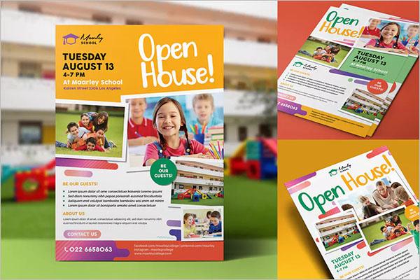 Custom Open House Flyer Design