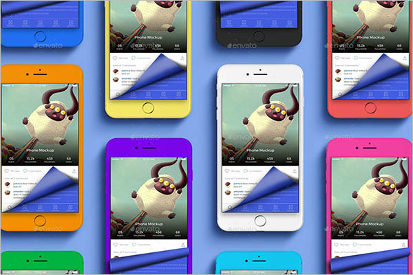Customizable App Screen Mockup Design