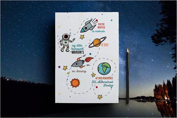 Customizable Event Postcard Design