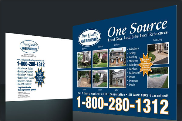 Customize Postcard Marketing Design
