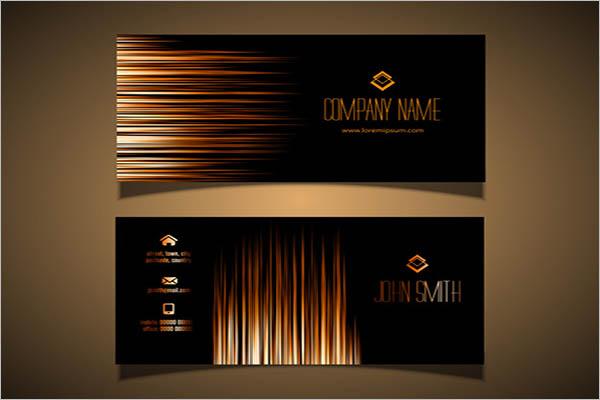 Digital Metal Business Cards Design