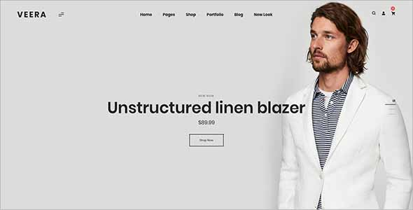 E-Commerce Sketch  Website Template