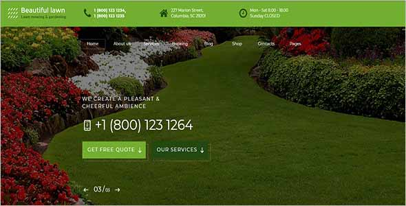 E-commerce Garden Website Theme1