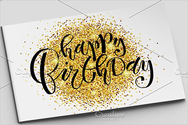 Birthday PostCard Creative Design