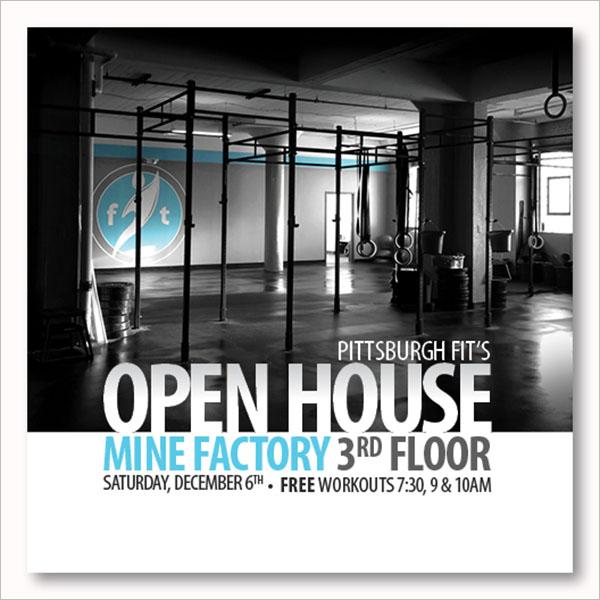 Editable Open House Flyer Design