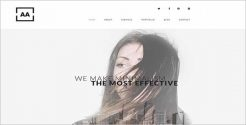 Effective Sketch Website Template