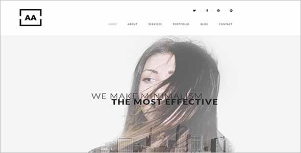 Effective Sketch Website Template