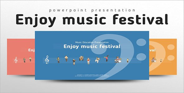 Enjoy music festival template