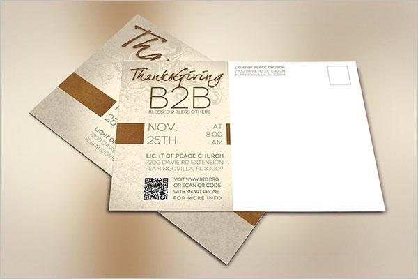 Event Postcard Premium Design