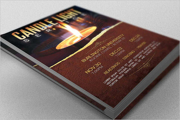 Event Postcard Printable Design