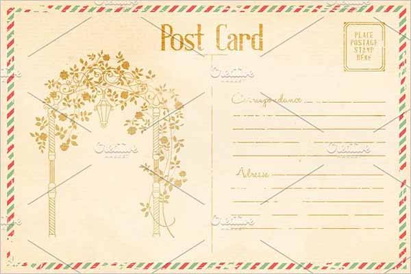 Event Vintage Postcard Design