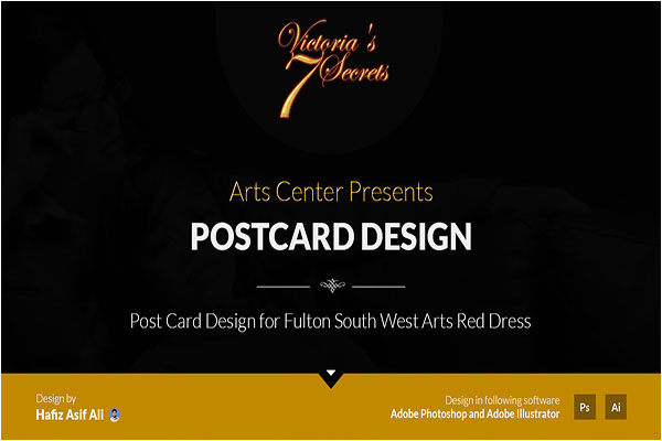 Eye Catching Event Postcard Design