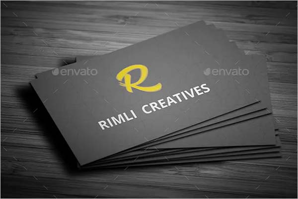 Eye Catching Sleek Business Card Design