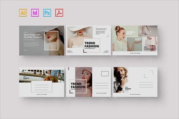 Fashion Marketing Postcard