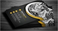 32+ Fitness Business Cards