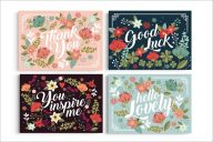 Floral Postcard Collection