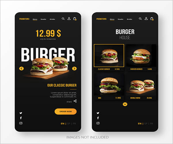 Free App Screen Mockup Designs