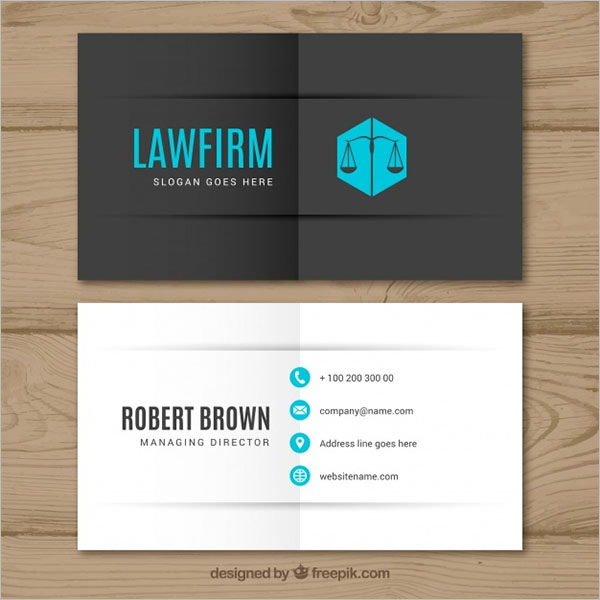 Free Printable Lawyer Business Card Templates