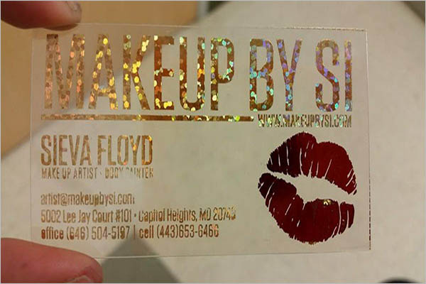 Free Transparent Business Card