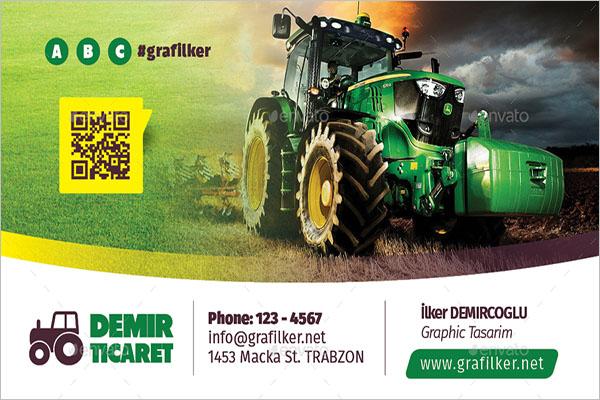 Garden Business Card Template