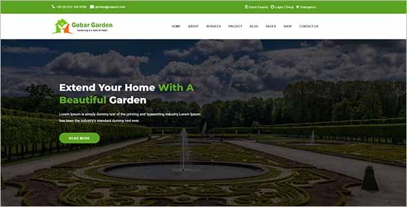 Garden Care WordPress Theme1