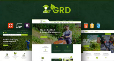 Garden Website Templates