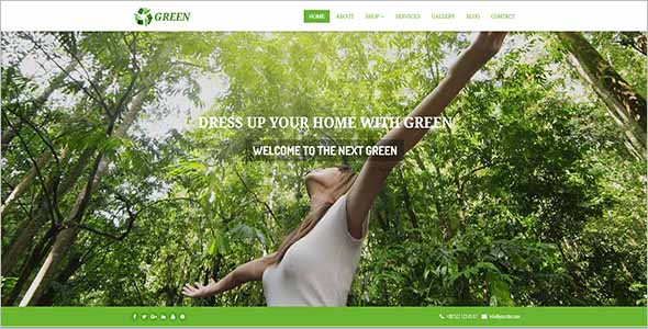 Garden Website Theme Nulled1
