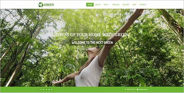 Garden Website Theme Nulled1