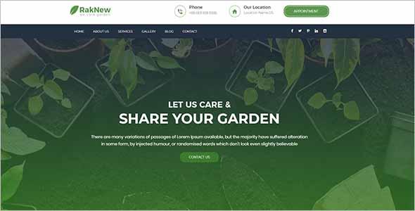 Gardening & Landscaping HTML Template1