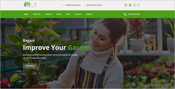 Gardening Landscaping Template1