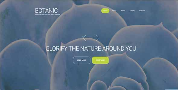 Gardening Website Template Download1