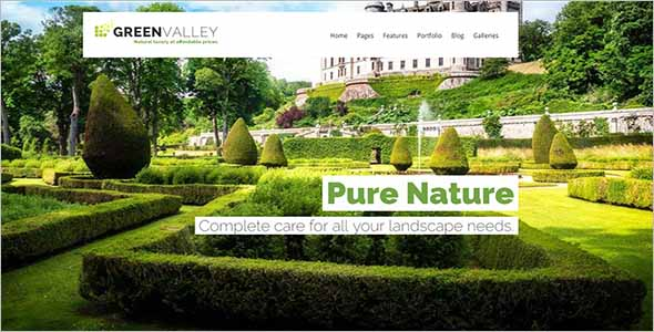 Gardening Website Template Example1