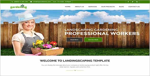 Graden Lawn Care Website Template1
